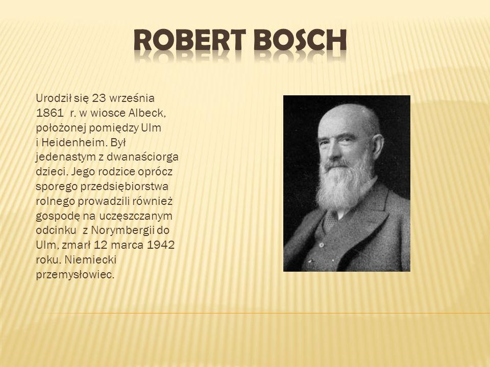 Urodził się 23 września 1861 r. w wiosce Albeck, położonej pomiędzy Ulm i Heidenheim. Był jedenastym z dwanaściorga dzieci. Jego rodzice oprócz sporeg