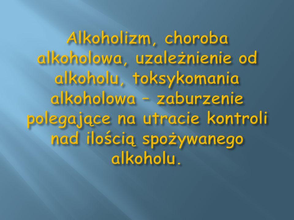Musimy pamiętać, iż człowiek po pewnym czasie staje się niewolnikiem alkoholu z jarzma którego nie łatwo jest się uwolnić.