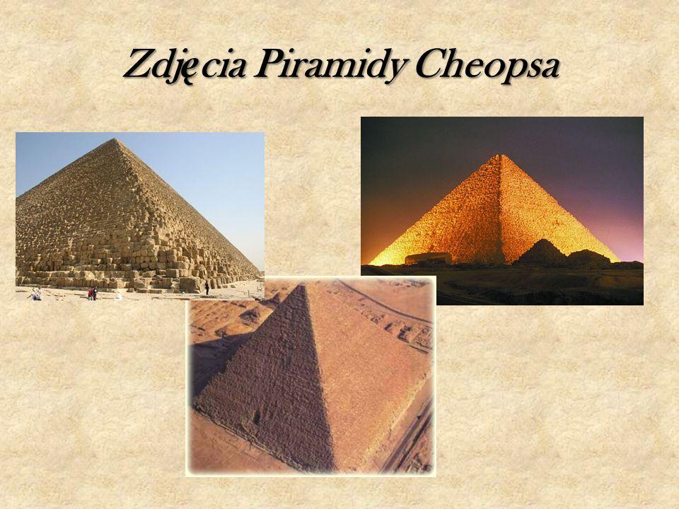 Zdj ę cia Piramidy Cheopsa