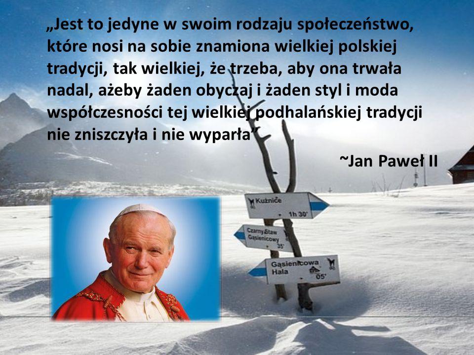 Jest to jedyne w swoim rodzaju społeczeństwo, które nosi na sobie znamiona wielkiej polskiej tradycji, tak wielkiej, że trzeba, aby ona trwała nadal,