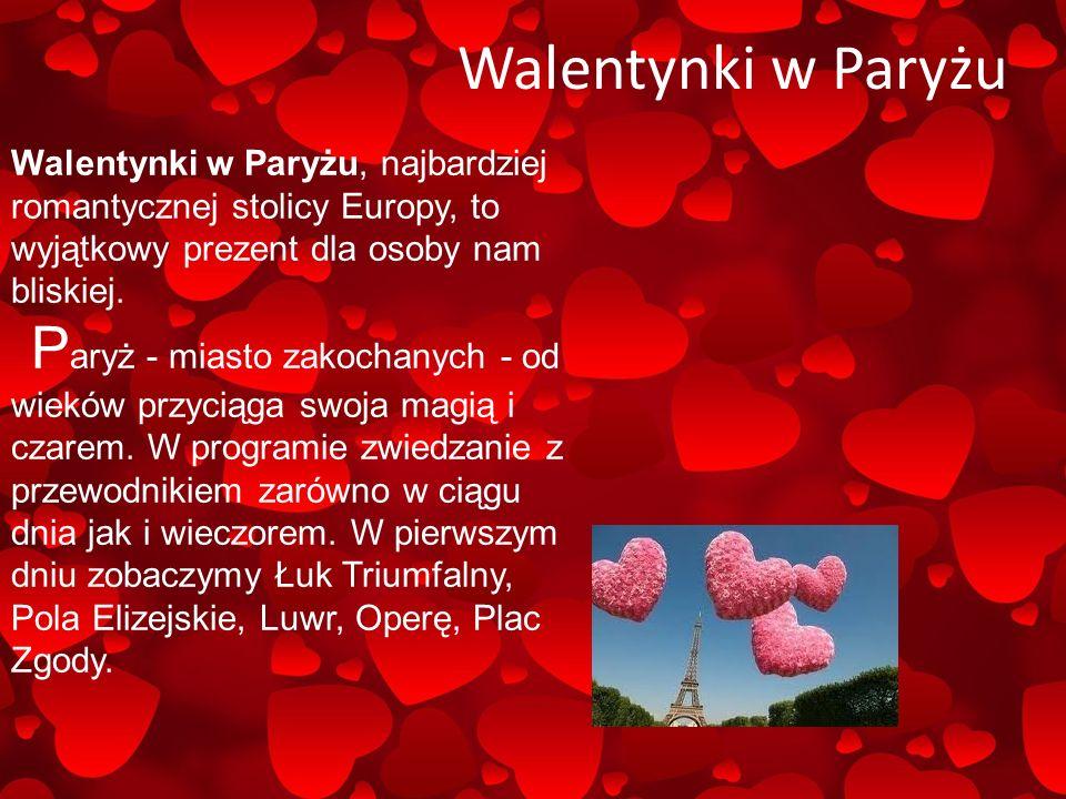 Walentynki w Niemczech W Niemczech symbolem Walentynek niezmiennie pozostają czerwone róże świadczące o miłości i wiecznej świeżości uczucia oraz czekoladowe lub piernikowe słodycze w kształcie seca.
