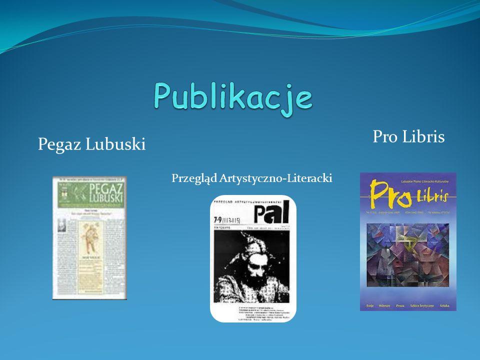 Pegaz Lubuski Pro Libris Przegląd Artystyczno-Literacki