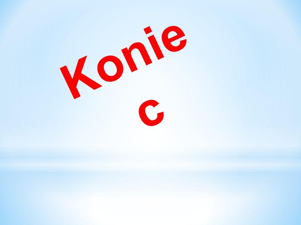 Konie c