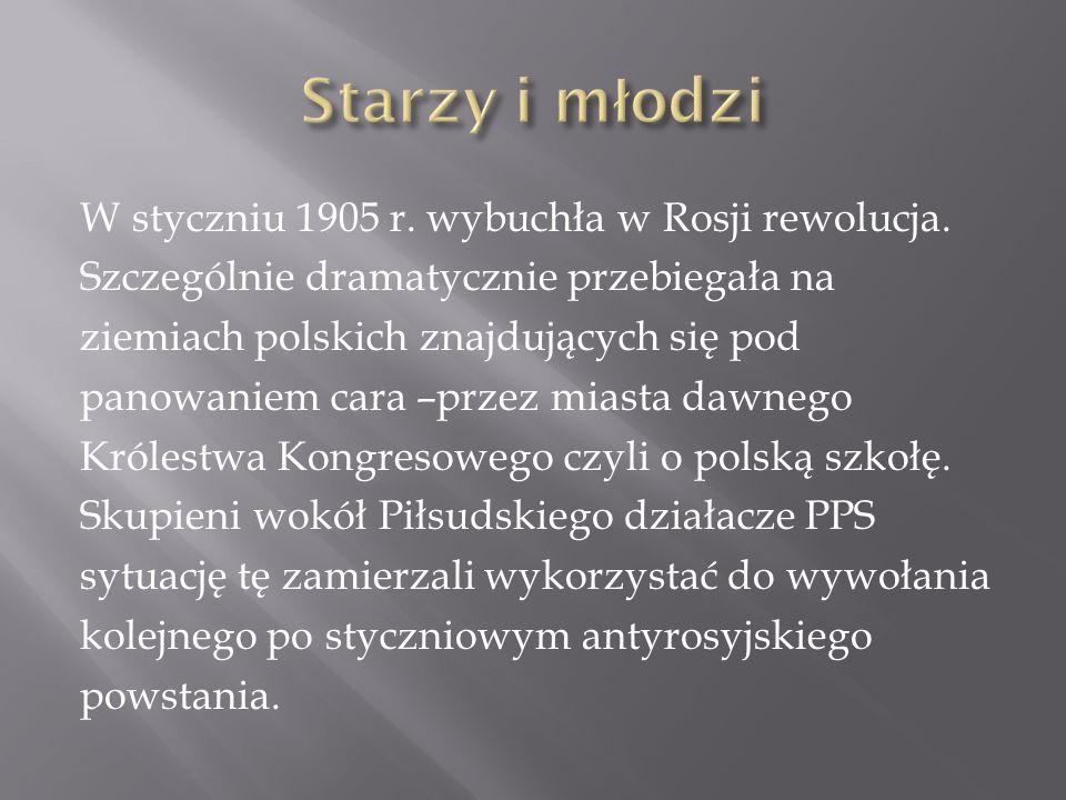 Celem, do jakiego Piłsudski stale dążył, była niepodległa Polska.