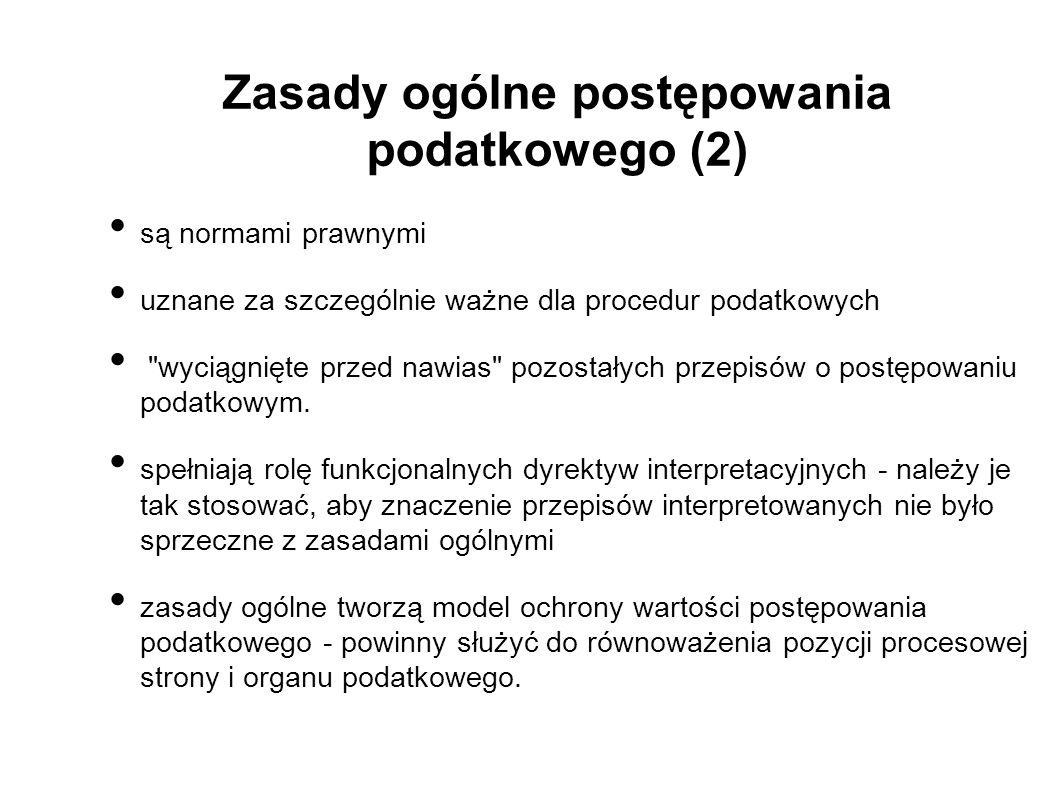 Zasada dwuinstancyjności - art.127 Op (2) Art.