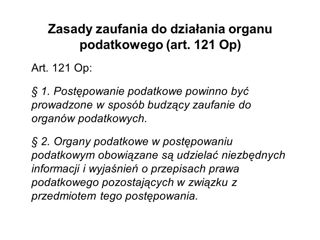 Zasada jawności wyłącznie dla stron - art.129 Op Art.