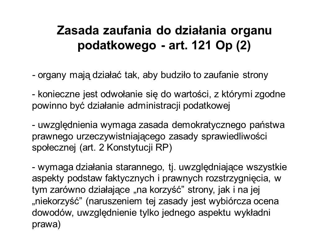 Zasada jawności wyłącznie dla stron - art.129 Op 1.