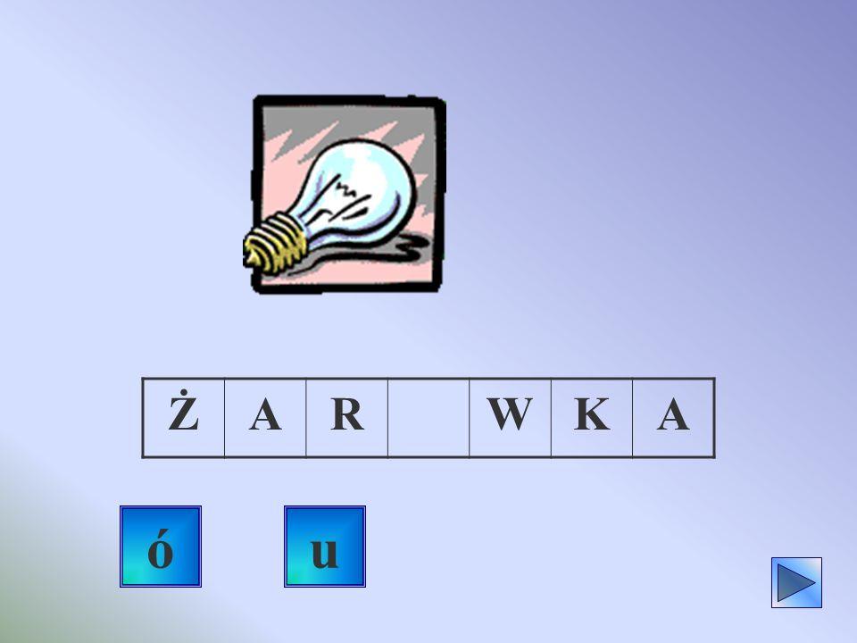 Sprawdź, czy znasz pisownię wyrazów, które za chwilę zobaczysz. Kliknij na prawidłowej, twoim zdaniem literze. Dobra odpowiedź to taki dźwięk Gdy źle