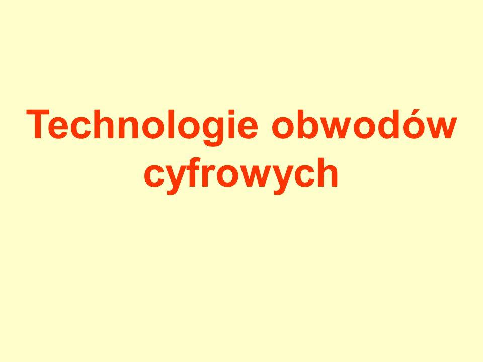Technologie obwodów cyfrowych