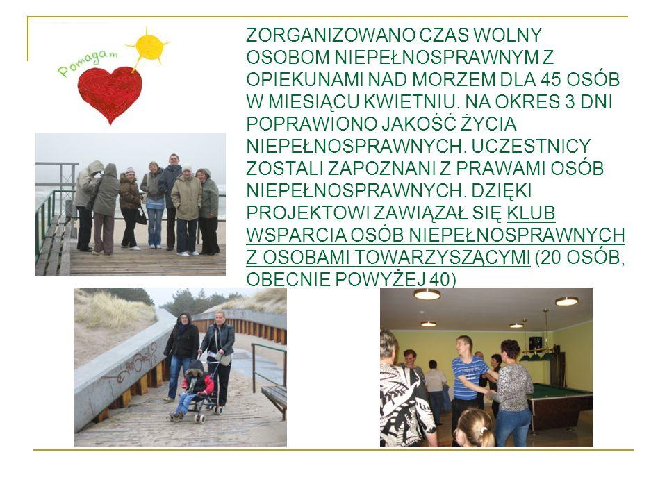 Projekt Mikołajki dla osób niepełnosprawnych w powiecie poznańskim dał satysfakcję uczestnikom z jego udziału.