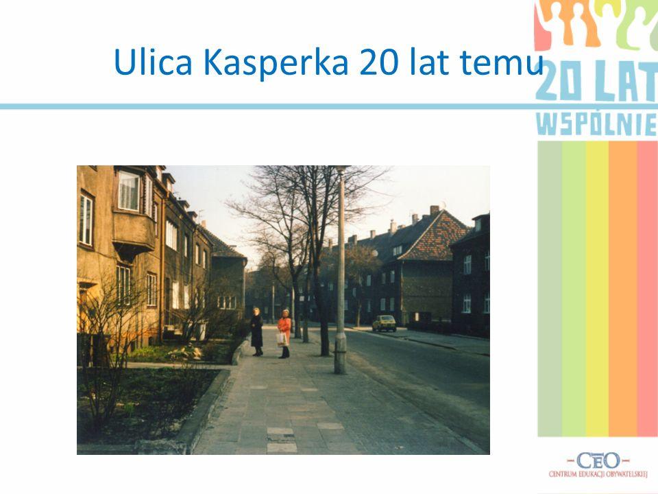 Ulica Kasperka 20 lat temu