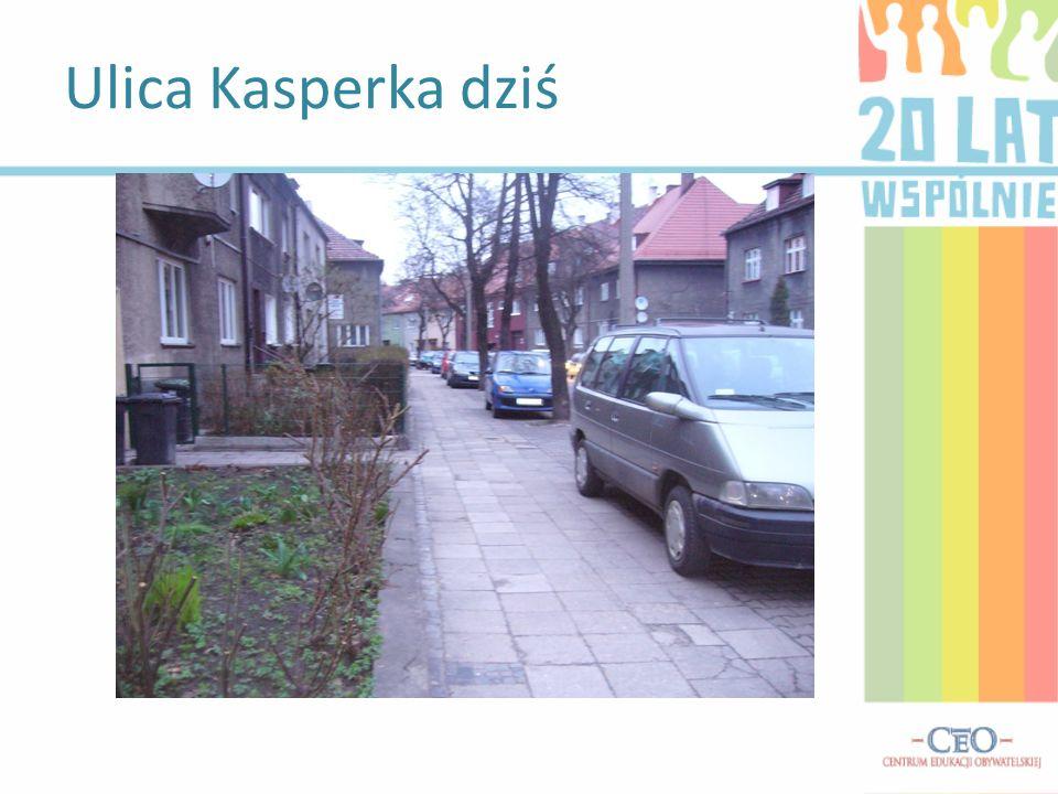 Ulica Kasperka dziś