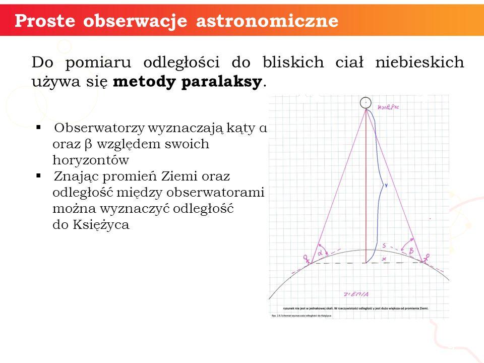 Fazy Księżyca 10 Proste obserwacje astronomiczne Filmik ilustrujący fazy Księżyca - Stellarium