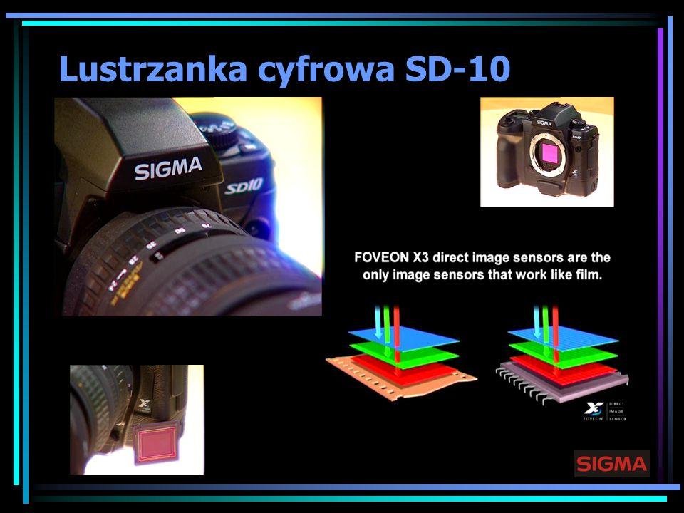 Lustrzanka cyfrowa SD-10