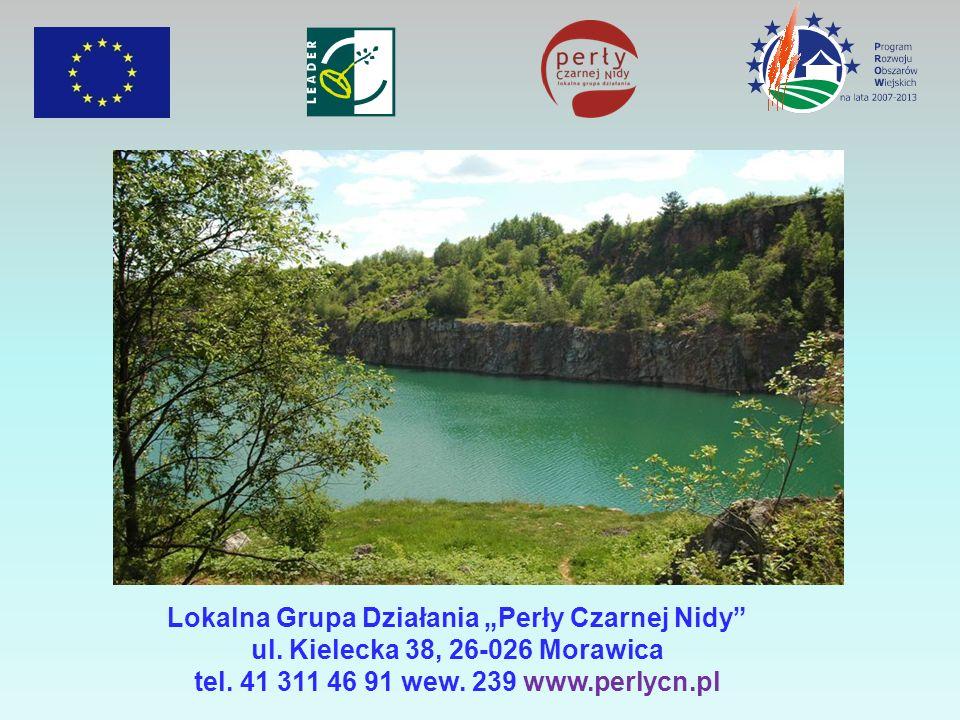 Lokalna Grupa Działania Perły Czarnej Nidy ul.Kielecka 38, 26-026 Morawica tel.