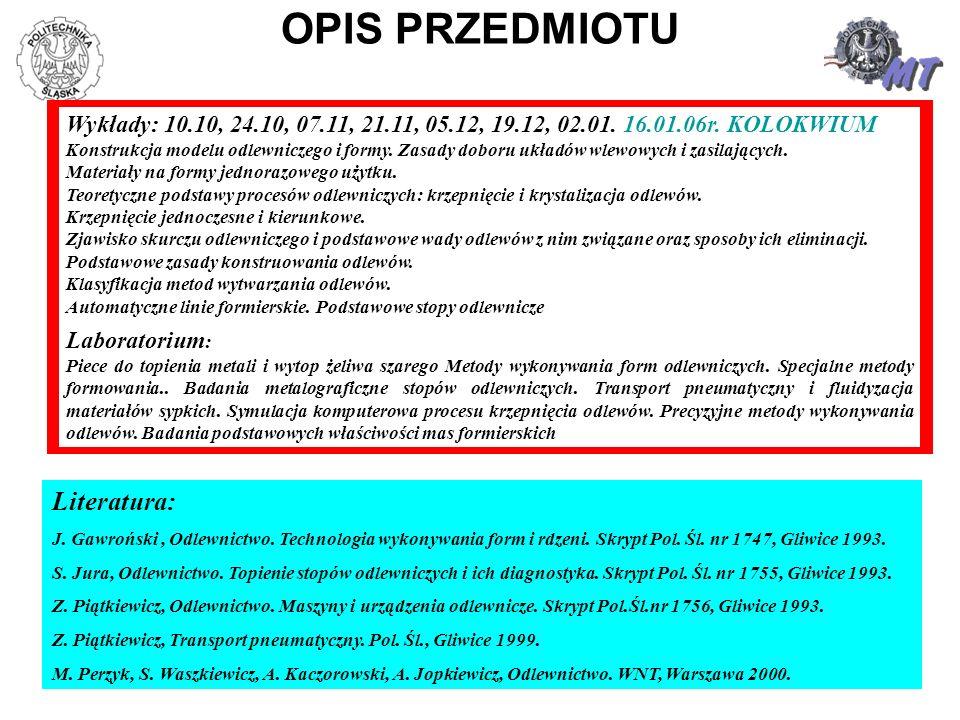 12 OSNOWA - główny, sypki składnik masy formierskiej.