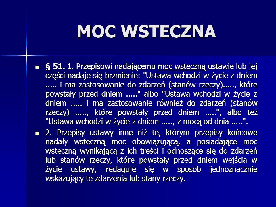 MOC WSTECZNA § 51.1.