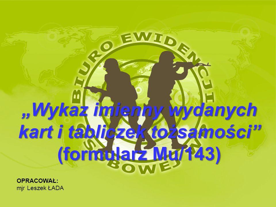 PODSTAWA PRAWNA UMOWA MIĘDZY PAŃSTWAMI - STRONAMI TRAKTATU PÓŁNOCNOATLANTYCKIEGO DOTYCZĄCA STATUSU ICH SIŁ ZBROJNYCH - NATO-SOFA (19.06.1951 r.) - Artykuł 3 § § III KONWENCJA GENEWSKA O TRAKTOWANIU JEŃCÓW WOJENNYCH (12.08.1949 r.) - Artykuł 17 I KONWENCJA GENEWSKA O POLEPSZENIU LOSU RANNYCH I CHORYCH W ARMIACH CZYNNYCH (12.08.1949 r.) – Artykuł 40 AKTY MIĘDZYNARODOWE II KONWENCJA GENEWSKA O POLEPSZENIU LOSU RANNYCH, CHORYCH I ROZBITKÓW SIŁ ZBROJNYCH NA MORZU – Artykuł 42