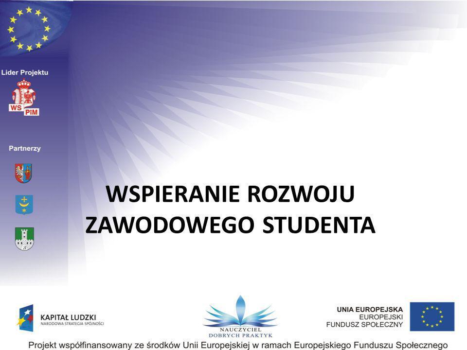WSPIERANIE ROZWOJU ZAWODOWEGO STUDENTA