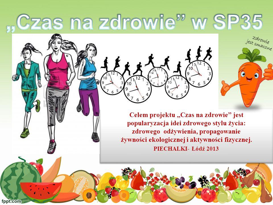 Celem projektu Czas na zdrowie jest popularyzacja idei zdrowego stylu życia: zdrowego odżywienia, propagowanie żywności ekologicznej i aktywności fizy