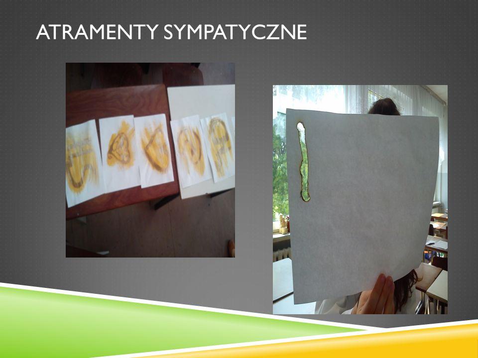ATRAMENTY SYMPATYCZNE