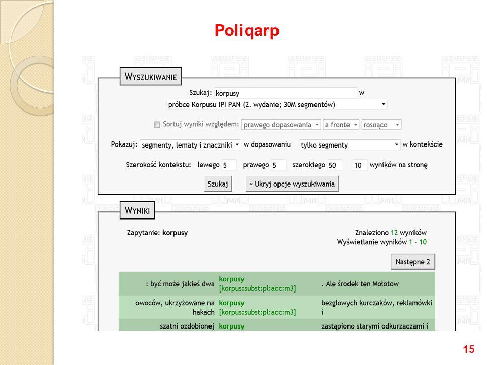 15 Poliqarp