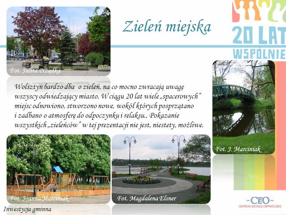 Zieleń miejska Wolsztyn bardzo dba o zieleń, na co mocno zwracają uwagę wszyscy odwiedzający miasto. W ciągu 20 lat wiele spacerowych miejsc odnowiono