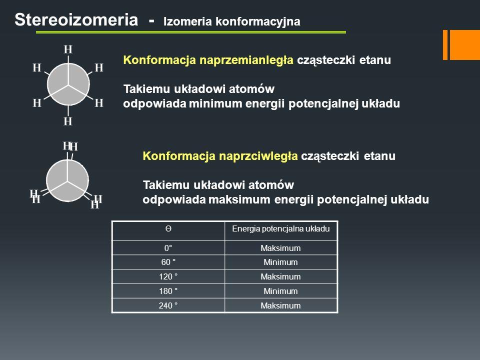 Dwa wybrane podstawniki to grupa etylowa i propylowa.