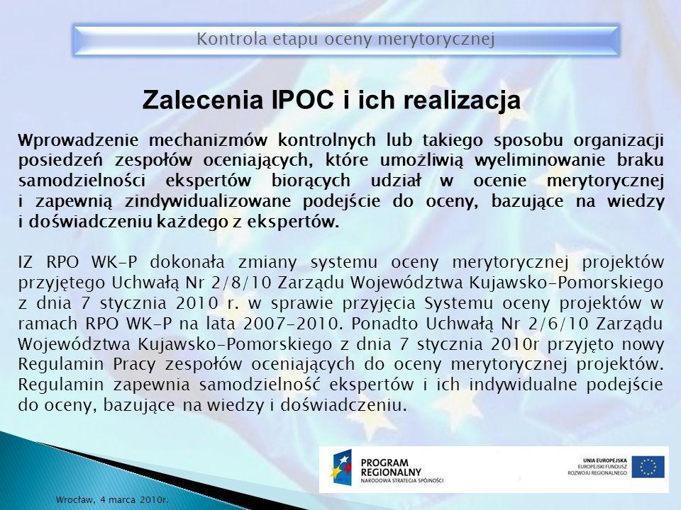 Wrocław, 4 marca 2010r.