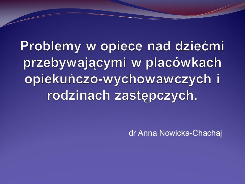 dr Anna Nowicka-Chachaj