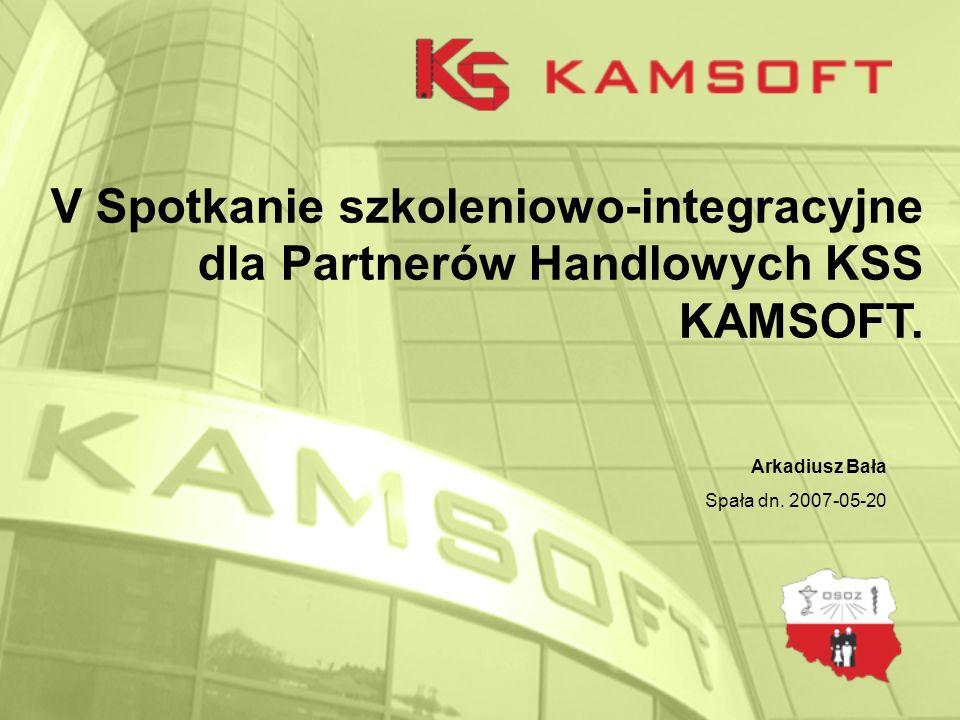 V Spotkanie szkoleniowo-integracyjne dla Partnerów Handlowych KSS KAMSOFT.
