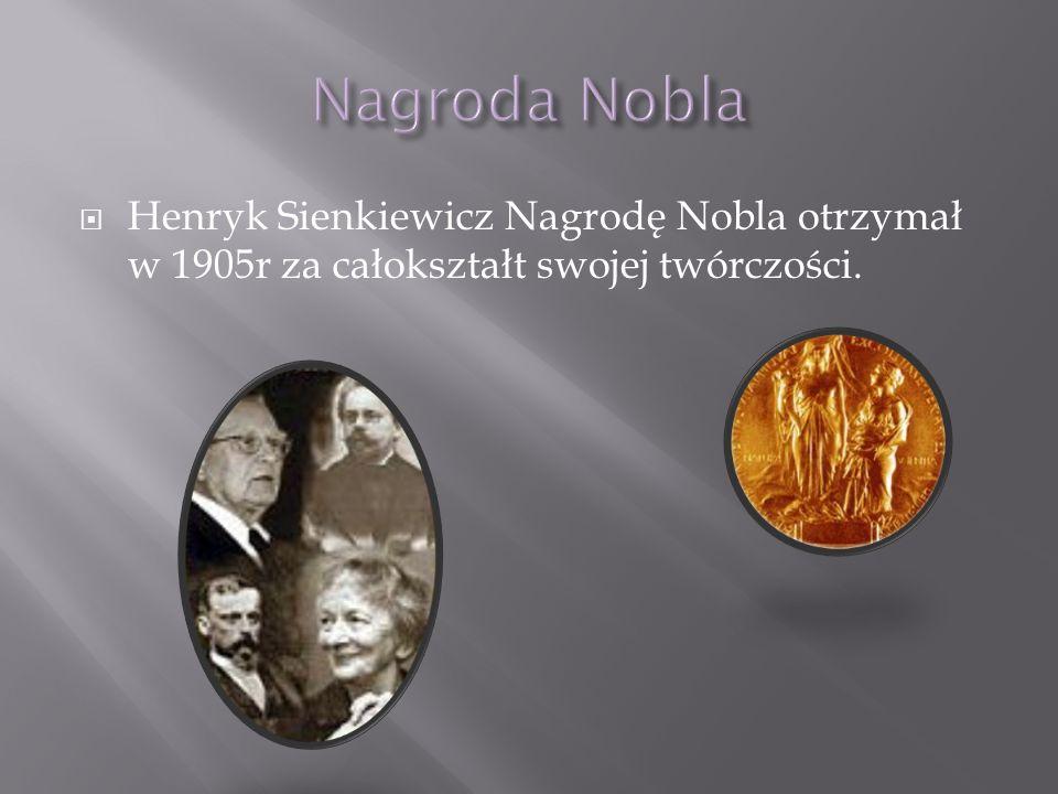 Po śmierci Henryka Sienkiewicza założono na jego cześć muzeum,w którym mieszczą się obrazy i listy które zachowały się do tych czasów.