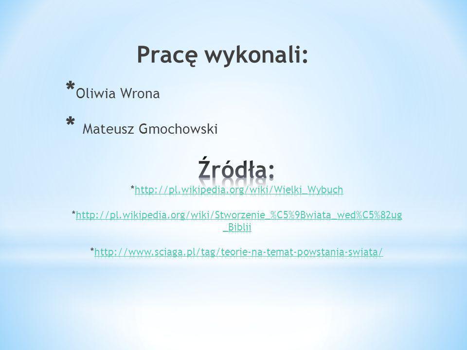Pracę wykonali: * Oliwia Wrona * Mateusz Gmochowski