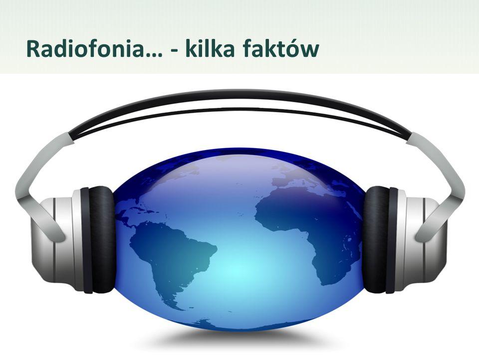 Radiofonia… - kilka faktów