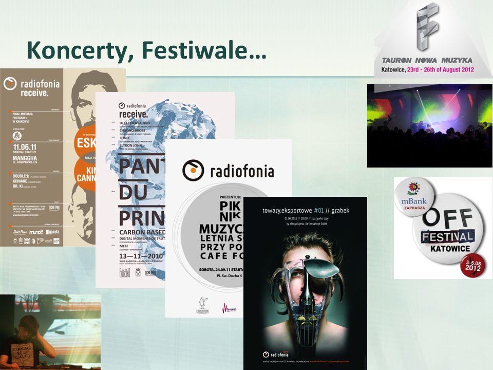 Koncerty, Festiwale…