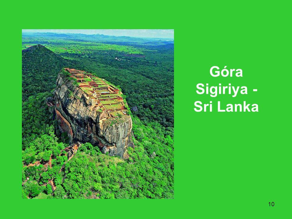 10 Góra Sigiriya - Sri Lanka