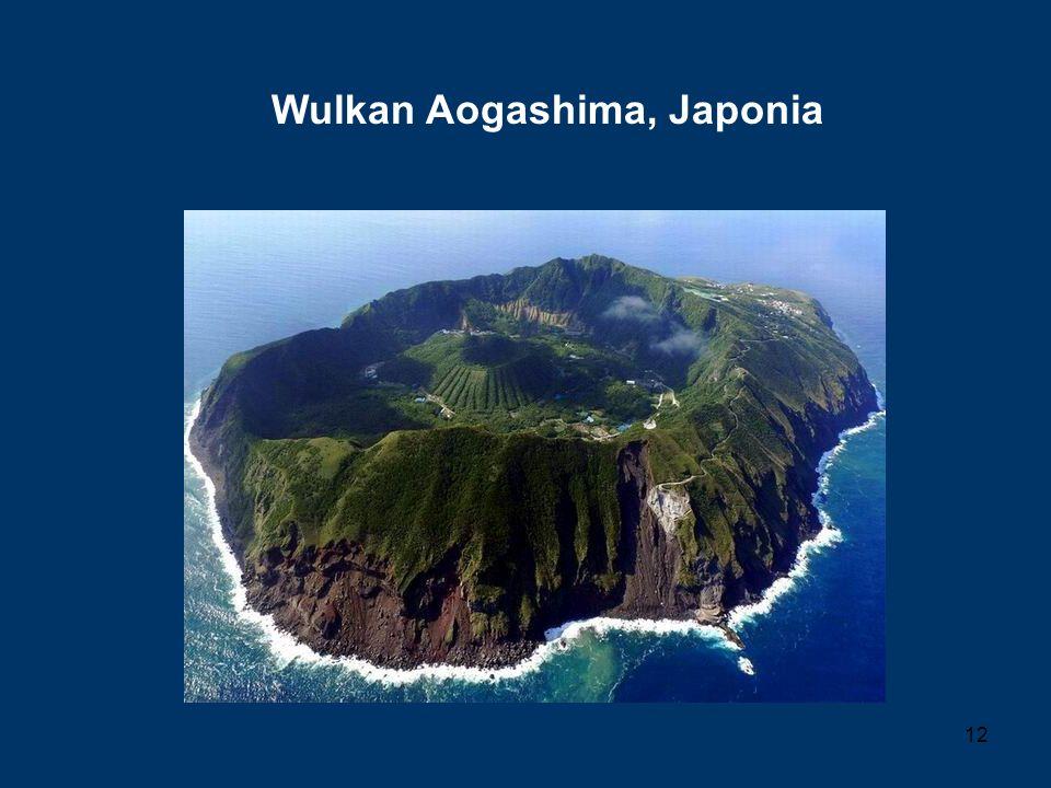 12 Wulkan Aogashima, Japonia
