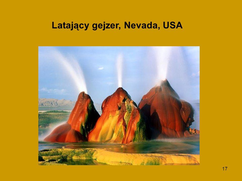 17 Latający gejzer, Nevada, USA