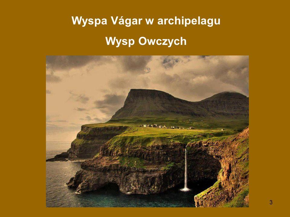 3 Wyspa Vágar w archipelagu Wysp Owczych
