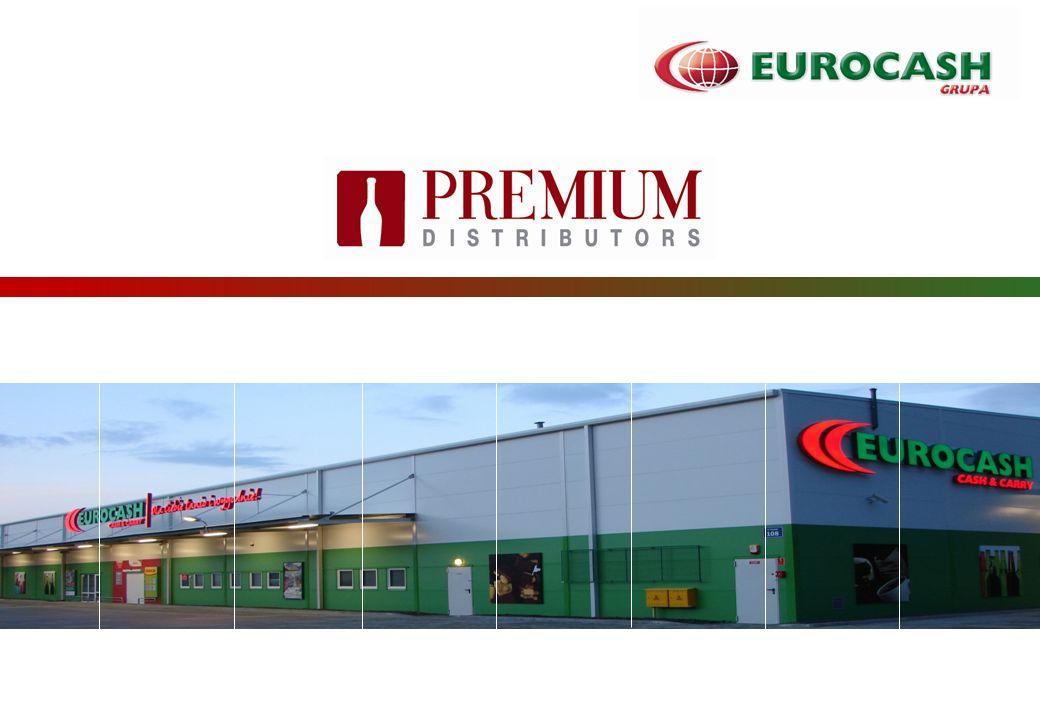 Cash&CarryFranchise systems Distribution 2 Wartość rynku wódki w Polsce i udziały Premium Distributors -3,7% 8,2 mld zł 7,9 mld zł 12,2% 11,0% 2012 2013 12.2012: 13,2% 12.2013 17,3% Wartość rynku: Udziały rynkowe:
