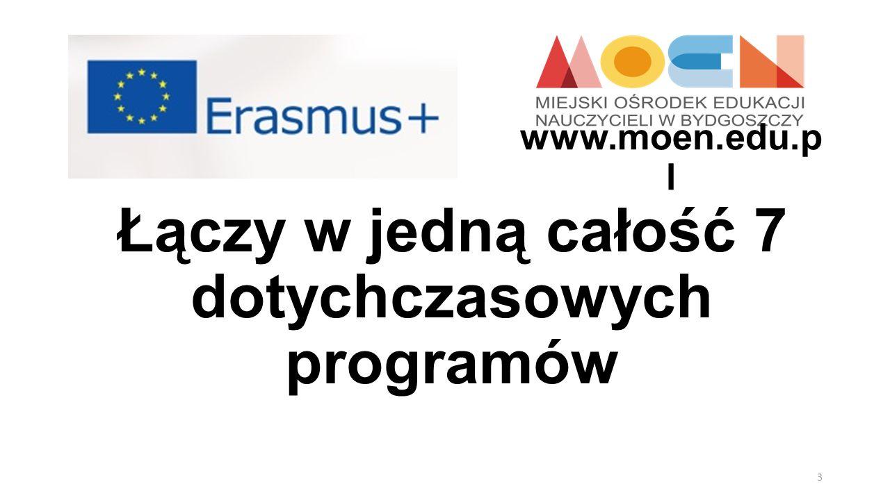 Uczenie się przez całe życie (Comenius, Erasmus, Grundtvig, Leonardo da Vinci), Młodzież w działaniu, Erasmus Mundus Jean Monnet, Tempus, Alfa, Edulink.