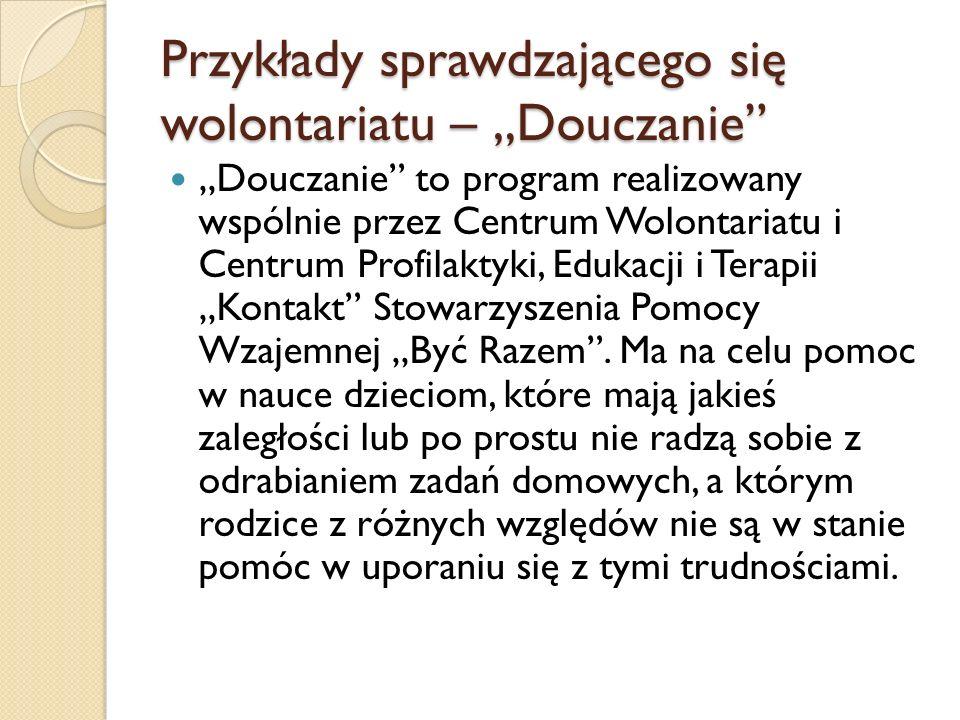 Programy wolontariatu zagranicznego w Polsce Narodowa Agencja Programu Młodzież W ramach unijnego programu Młodzież w działaniu prowadzone są m.in.