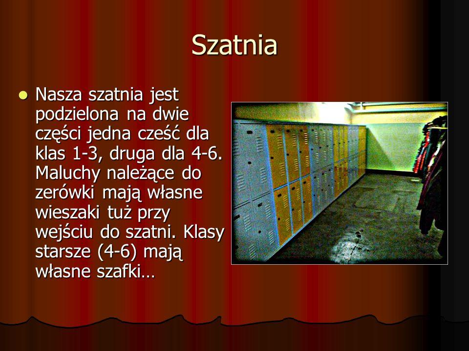 Plac zabaw Plac zabaw jest przeznaczony do zabaw dla klas młodszych (1-3) i zerówek.
