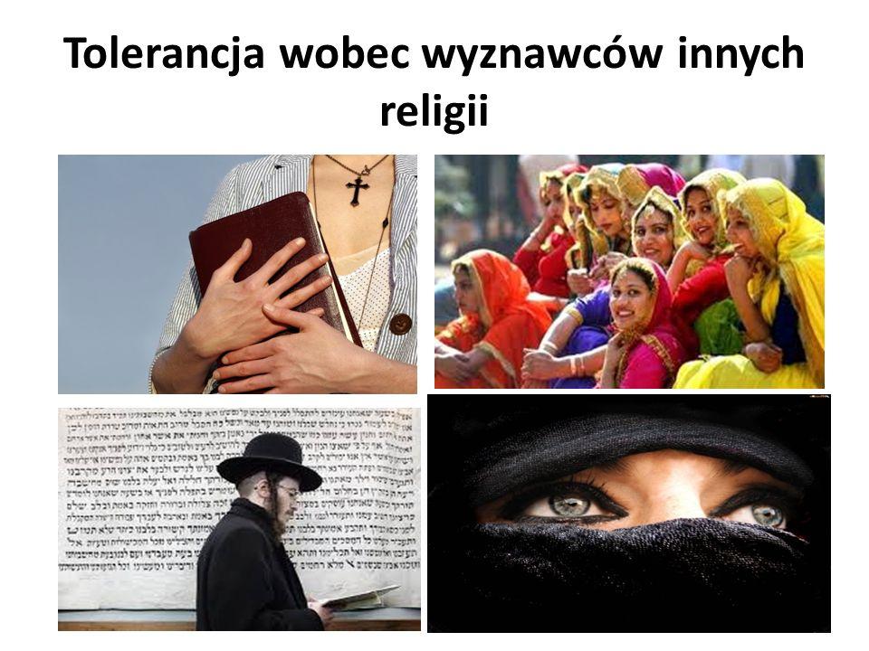 Tolerancja wobec wyznawców innych religii