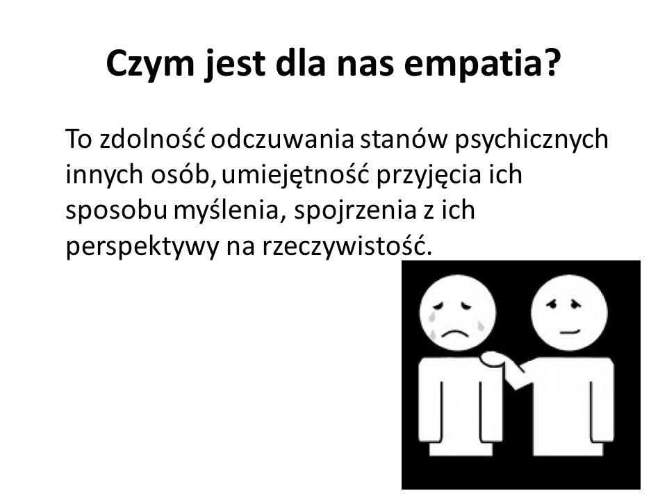 Czym jest dla nas empatia.