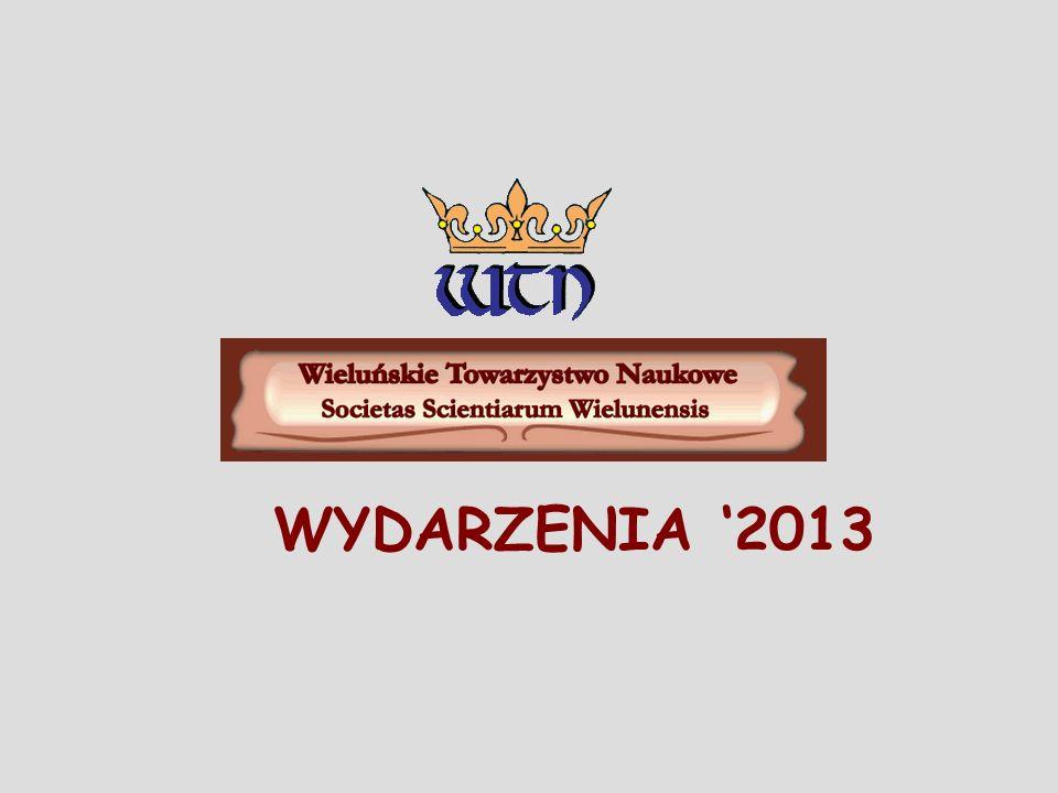 Nagrody im.Jana Długosza przyznawane przez Wieluńskie Towarzystwo Naukowe Rok 2012.