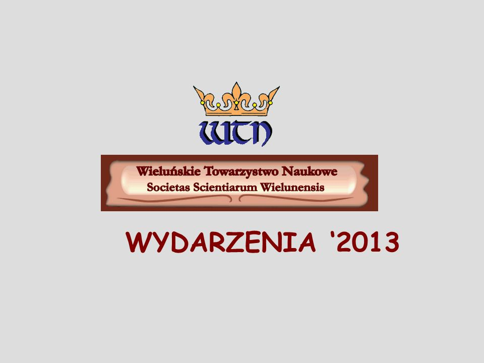 WYDARZENIA 2013
