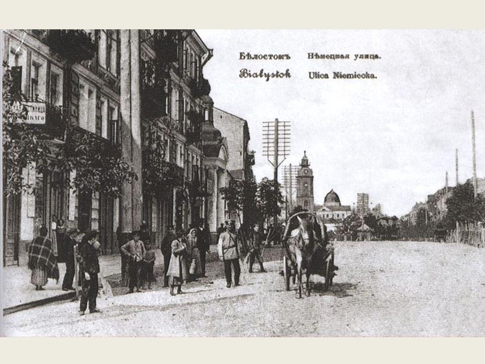 W II połowie XIX wieku, dzięki drodze żelaznej Warszawsko-Petersburskiej, Białystok był już ważnym węzłem komunikacyjnym.