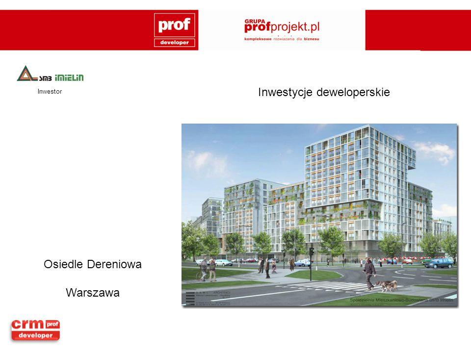 Osiedle Dereniowa Warszawa Inwestor Inwestycje deweloperskie