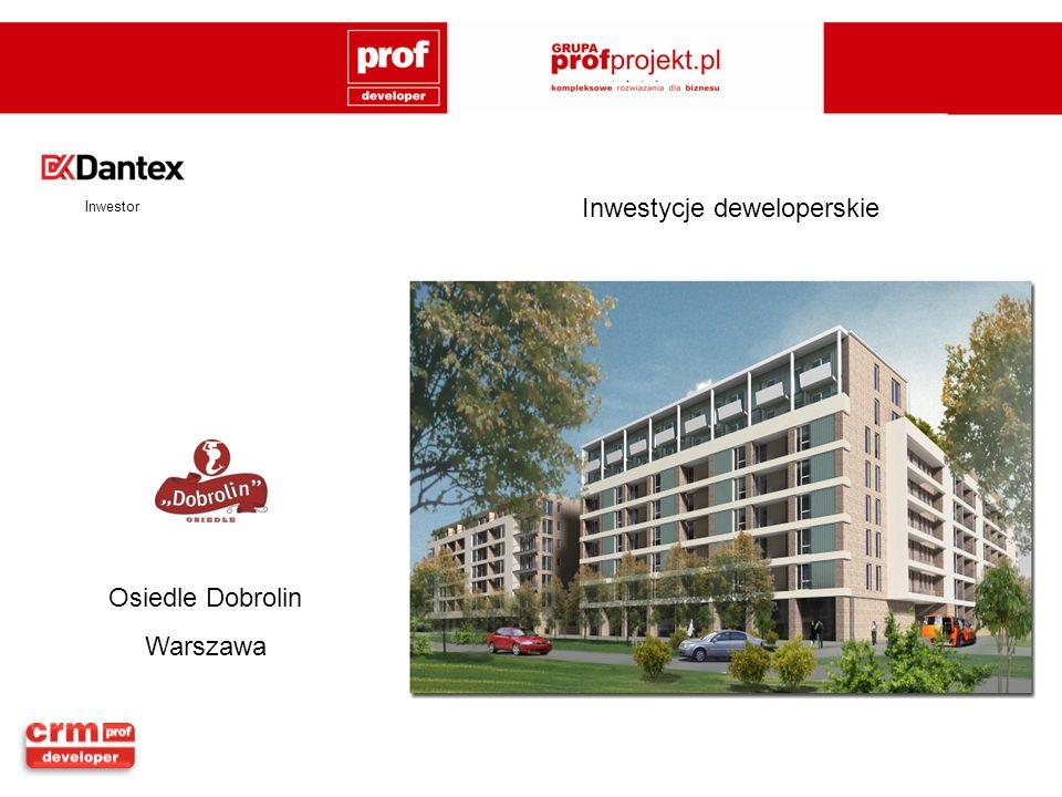 Osiedle Dobrolin Warszawa Inwestor Inwestycje deweloperskie